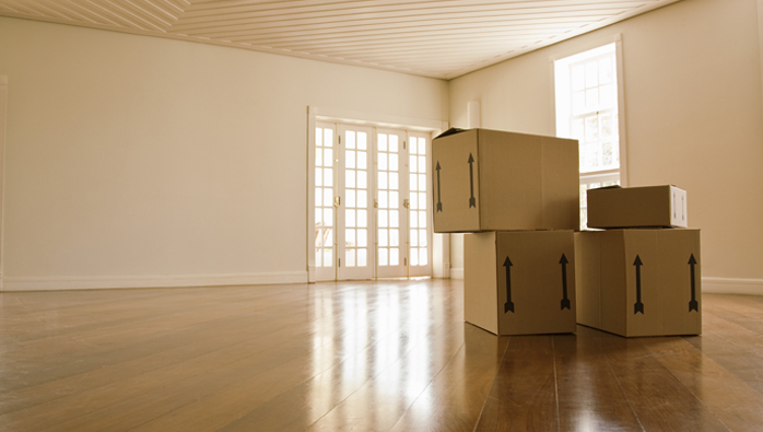 Moving services NYC include moving boxes the floor