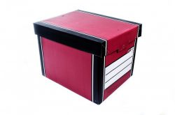 -box filled with papers