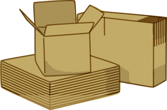 -graphic drawing of boxes