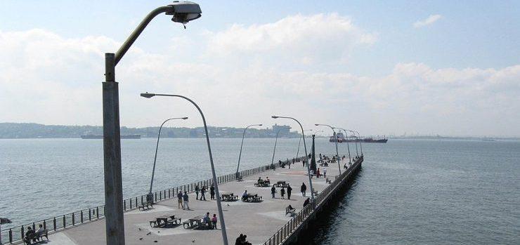 Bay Ridge pier