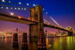 Picture of the Brooklyn Bridge