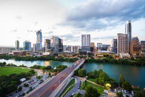 Day view of Austin, TX.