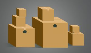 moving boxes without label