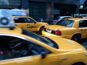 cabs in NYC as representation why Millennials are leaving New York