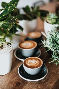 Cups of coffe