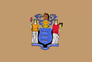 Best places to live in New Jersey - flag of the state of New Jersey