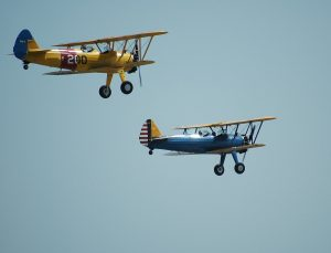 things to do in red hook - two aircrafts flying in the sky during daylight