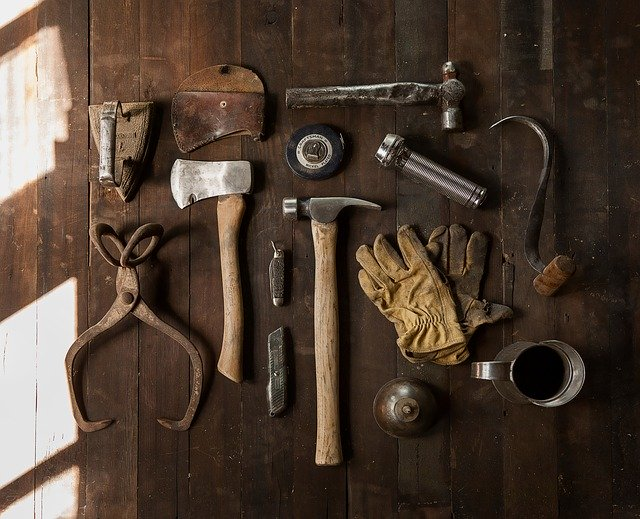 A set of tools needed when moving from Brooklyn to New Jersey