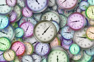 a lot of clocks